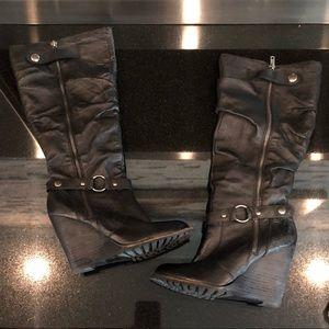 Baker's Black Zipup Boots